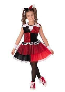 Super Villains Harley Quinn Girls Costume
