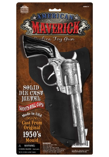 Maverick Cowboy Gun Holster Set By: Parris Manufacturing Company for the 2015 Costume season.