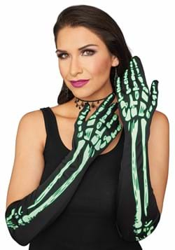 Glow in the Dark Skeleton Gloves