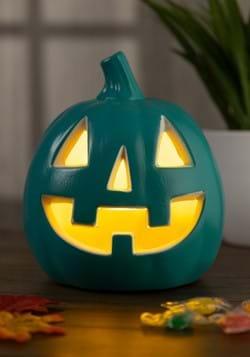 Light-up Teal Pumpkin Decoration