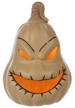 Nightmare Before Christmas Ooogie Boogie Light Up Pumpkin