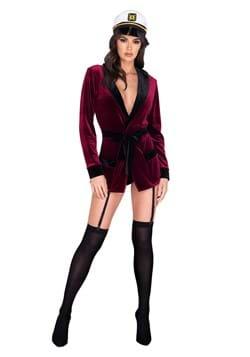 Women's Sexy Lady Smoking Jacket Costume