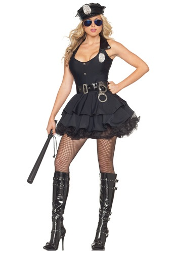 Sexy Tutu Cop Costume By: Party King for the 2015 Costume season.