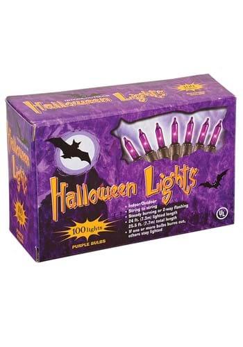 100 UL Purple Indoor or Outdoor Light Set
