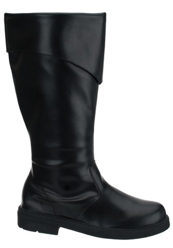 Tall Black Costume Boots For Men