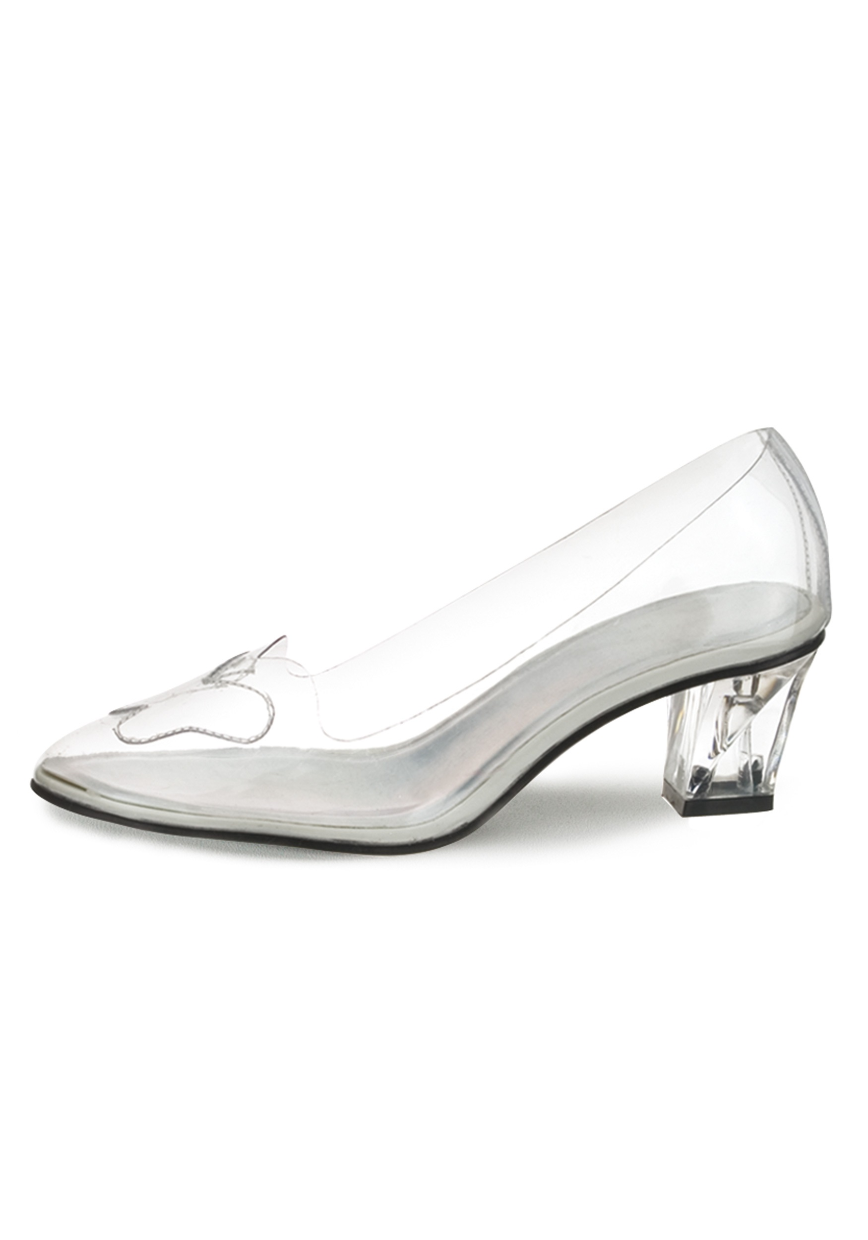 Cinderella S Glass Shoe Clear Shoes