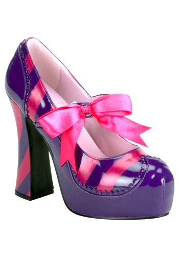 Womens Cheshire Cat Shoes - Sexy Costume Shoes