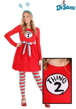 Dr. Seuss Thing 1 &2 Womens Costume