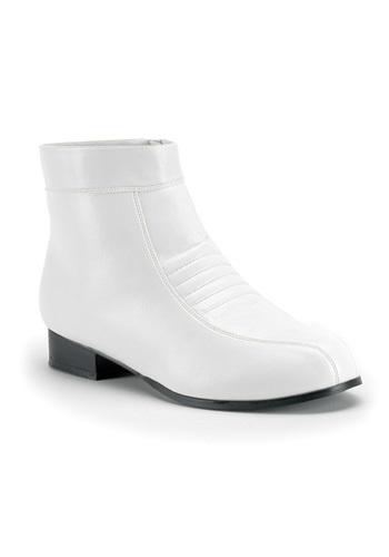 White Mens Boots