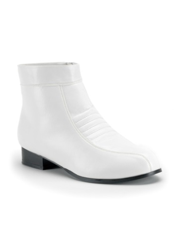 Click Here to buy White Mens Boots from HalloweenCostumes, USA Funds & Shipping