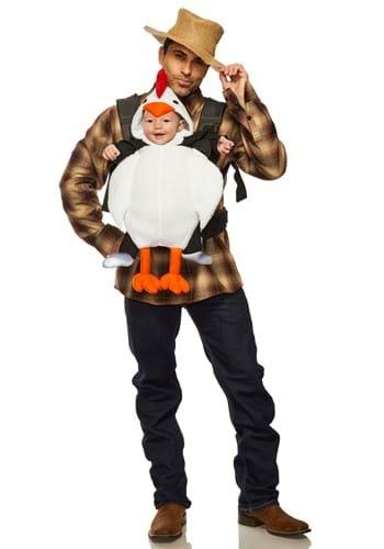 Chicken & Farmer Carrier Costume