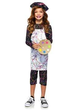 Child Neon Artist Costume