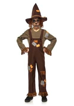 Kids Evil Scarecrow Costume