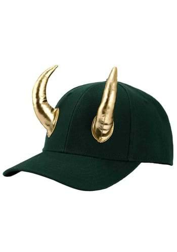 Marvel Loki Cosplay Snapback Hat