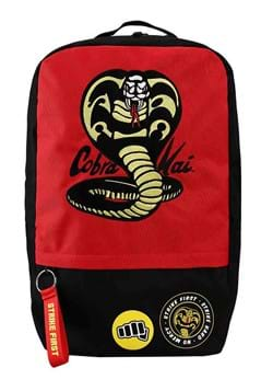 Cobra Kai Embroidered Patches Laptop Backpack