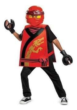 Disguise Child Kai Ninjago Costume