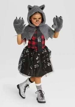 Kids Werewolf Dress Costume