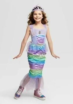 Kids Iridescent Mermaid Costume