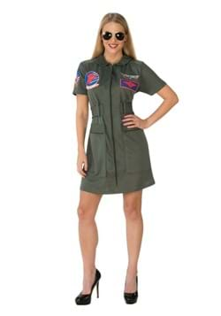 Top Gun Adult Women's Costume Dress