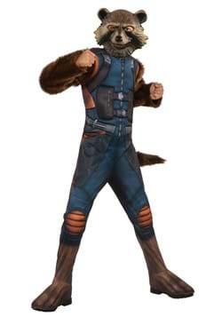 Deluxe Child Rocket Raccoon Avengers 4 Costume
