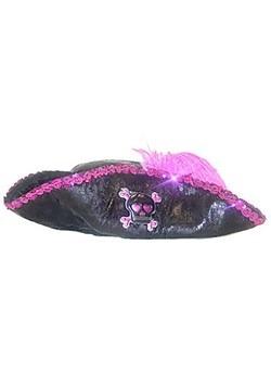 Kids Pink Caribbean Pirate Hat Update