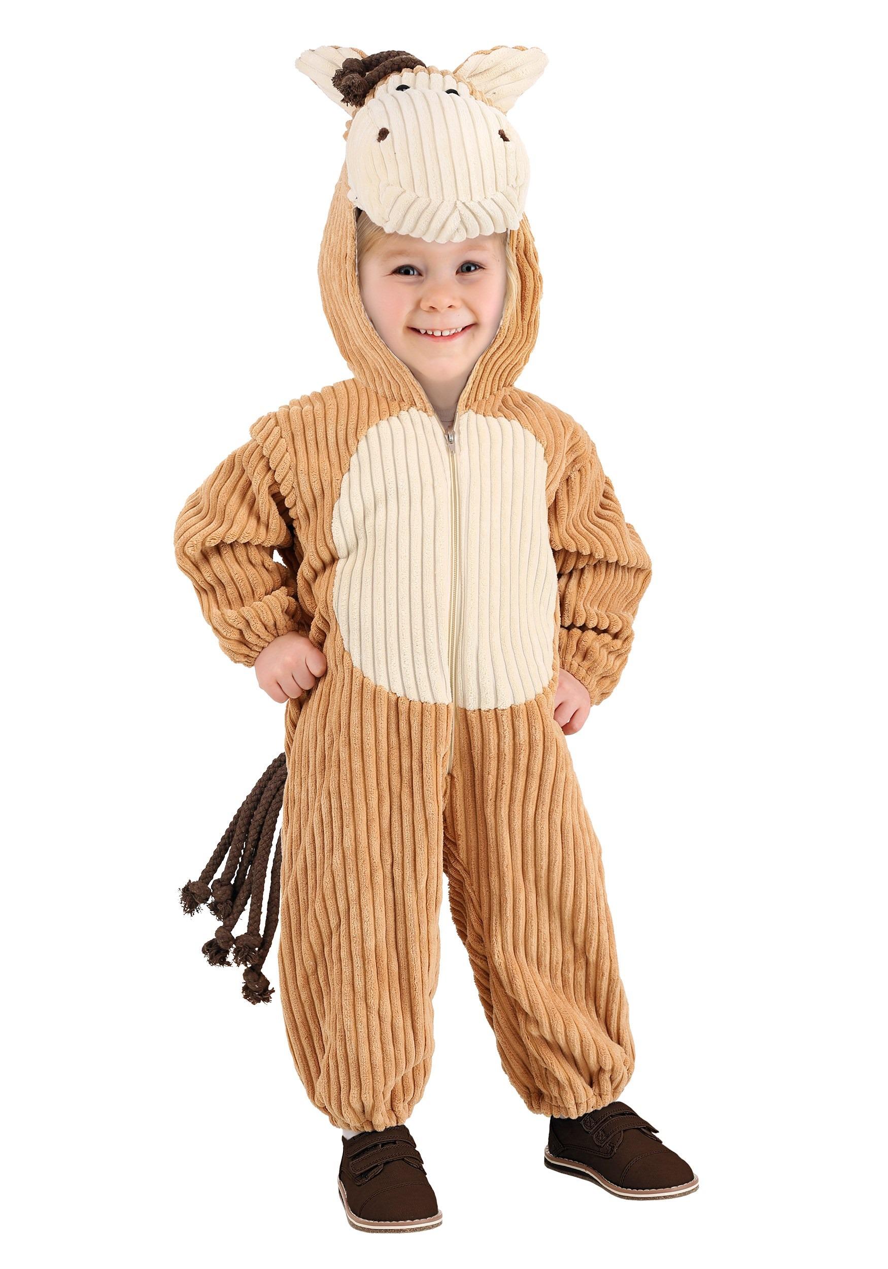 Tiger Horse Costume Toddler Corduroy Horse Costume