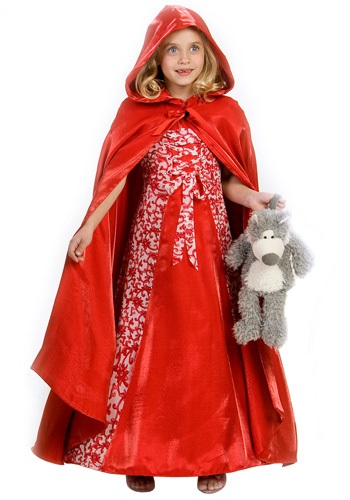 Princess Red Riding Hood Costume By: Princess Paradise for the 2015 Costume season.