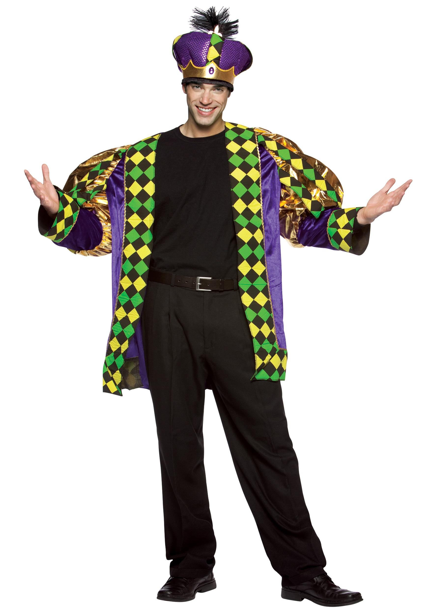 adult mardi gras king costume. Black Bedroom Furniture Sets. Home Design Ideas