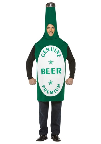 Beer Bottle Costume By: Rasta Imposta for the 2015 Costume season.
