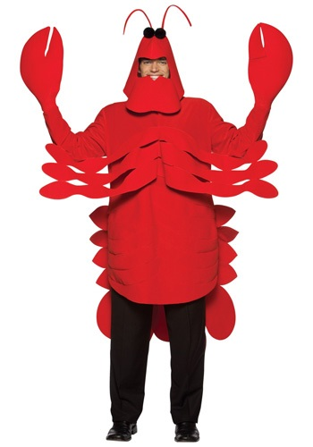 Adult Lobster Costume By: Rasta Imposta for the 2015 Costume season.