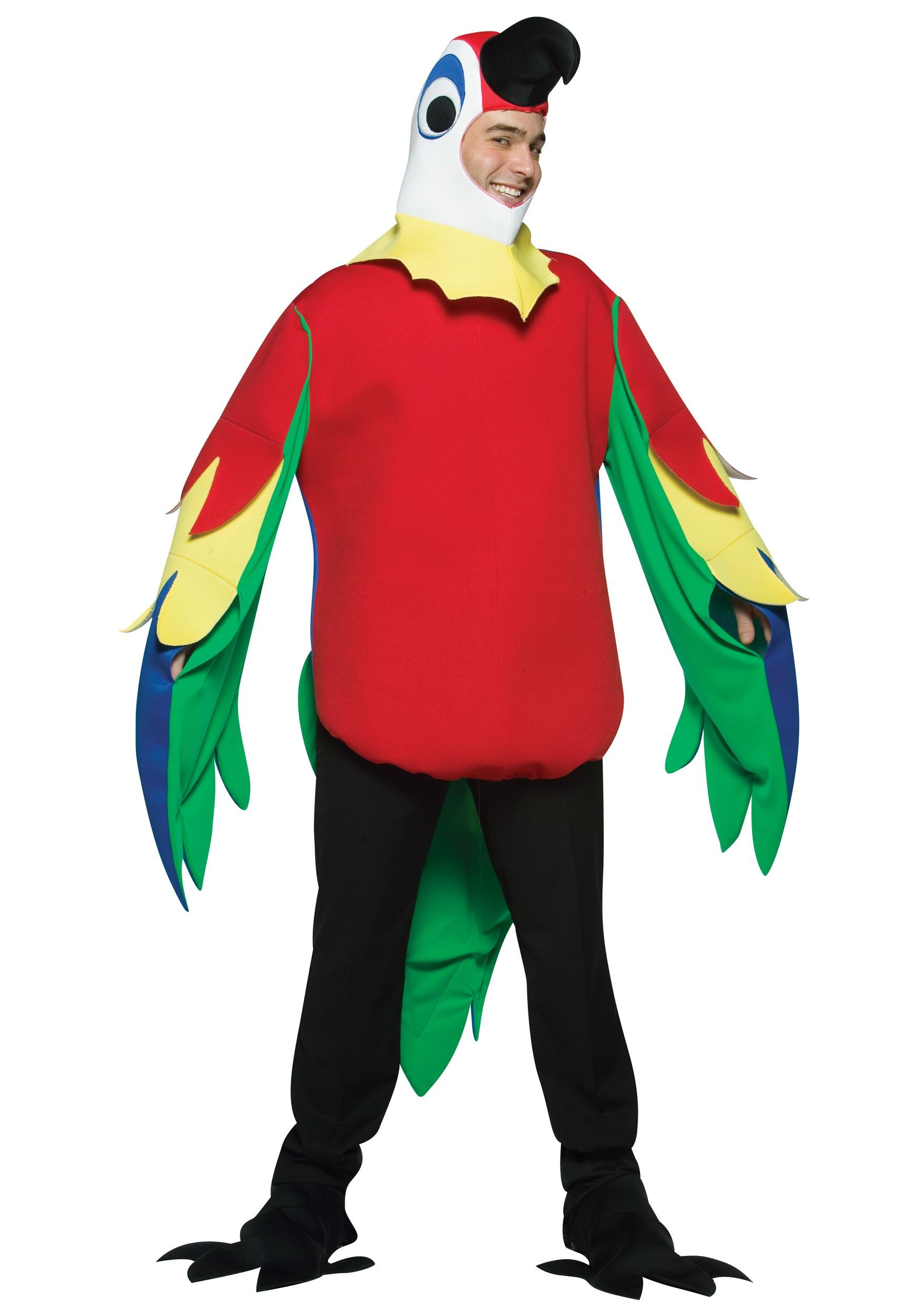 sc 1 st  Halloween Costumes & Adult Parrot Costume