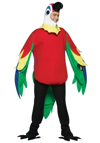 Click Here to buy Adult Parrot Costume from HalloweenCostumes, USA Funds & Shipping