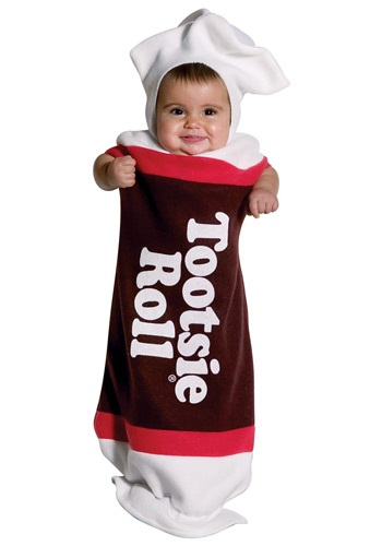 Baby Tootsie Roll Bunting By: Rasta Imposta for the 2015 Costume season.