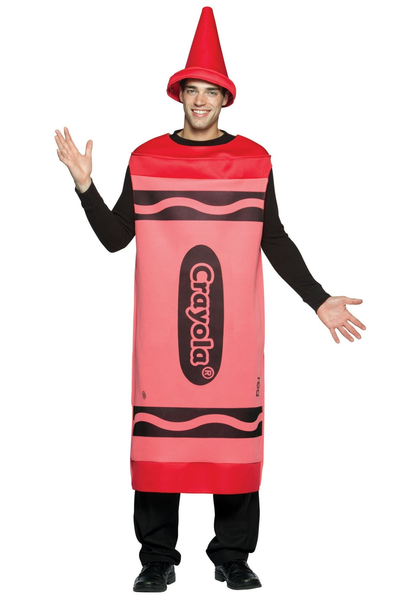 sc 1 st  Halloween Costumes & Adult Red Crayon Costume