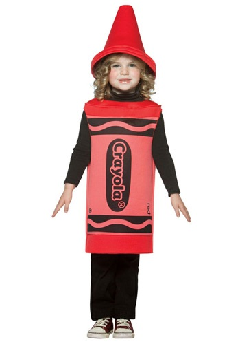 Toddler Red Crayon Costume By: Rasta Imposta for the 2015 Costume season.