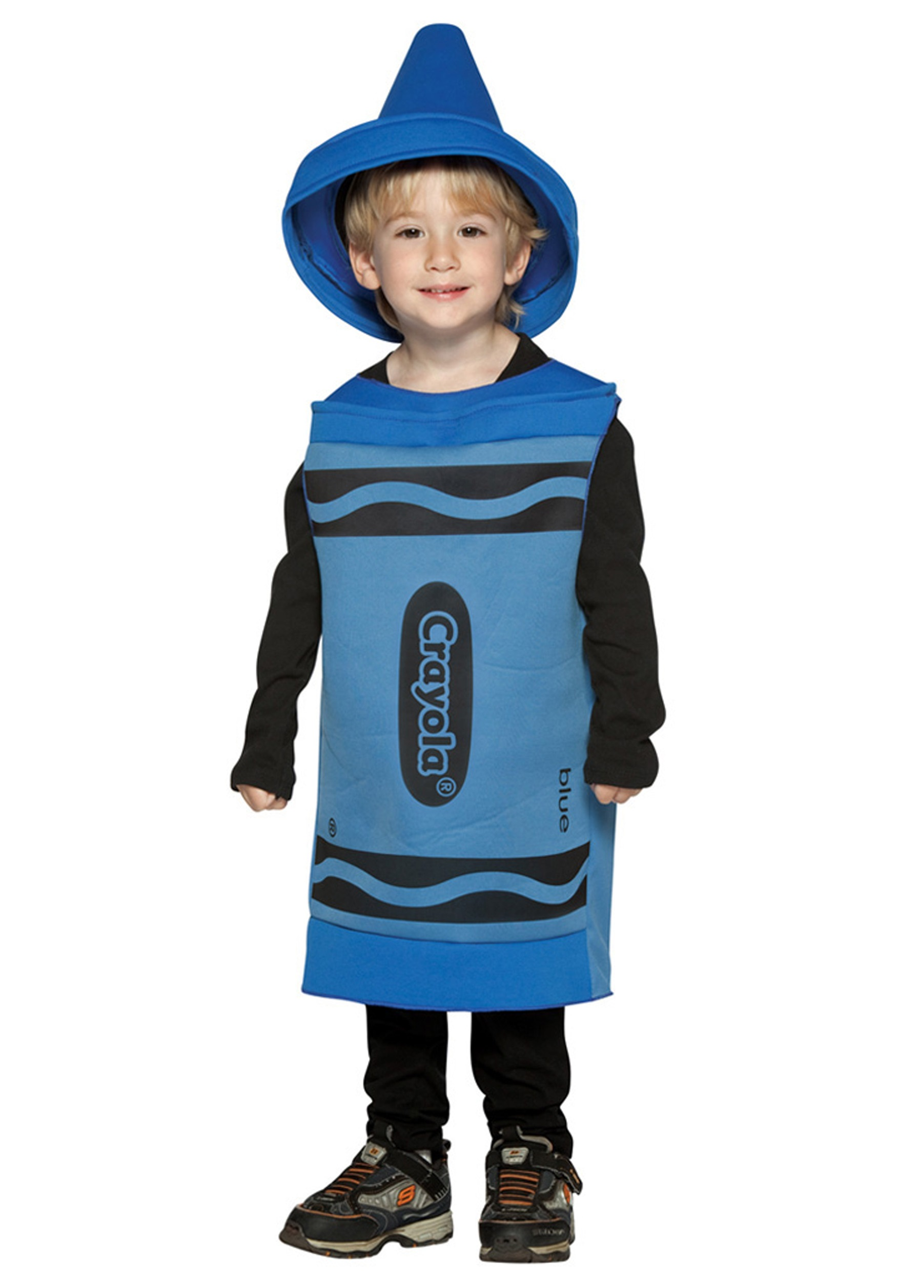 sc 1 st  Halloween Costumes & Toddler Blue Crayon Costume