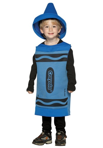 Toddler Blue Crayon Costume By: Rasta Imposta for the 2015 Costume season.