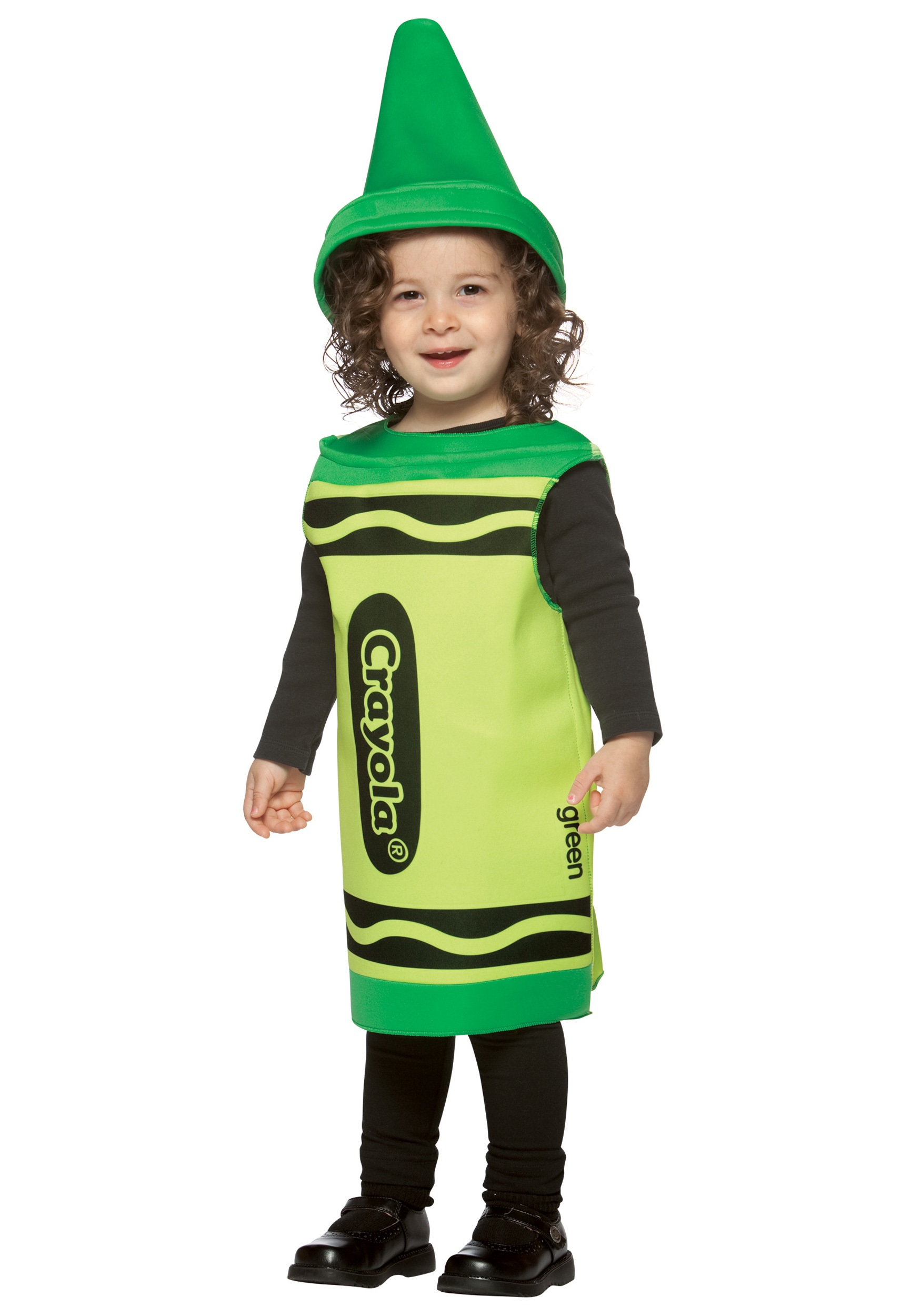 sc 1 st  Halloween Costumes & Toddler Green Crayon Costume