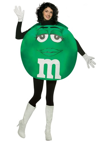 Green MandM Costume By: Rasta Imposta for the 2015 Costume season.