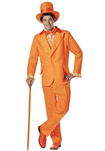 Orange Dumb and Dumber Lloyd Costume - Licensed Dumb and Dumber Halloween Costumes