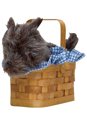 Black Dog Handbag Basket