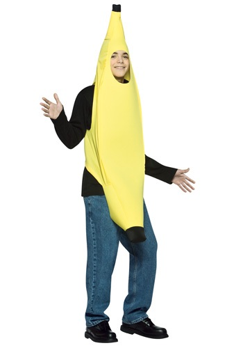 Click Here to buy Teen Banana Costume - Funny Halloween Costumes for Teens from HalloweenCostumes, USA Funds & Shipping