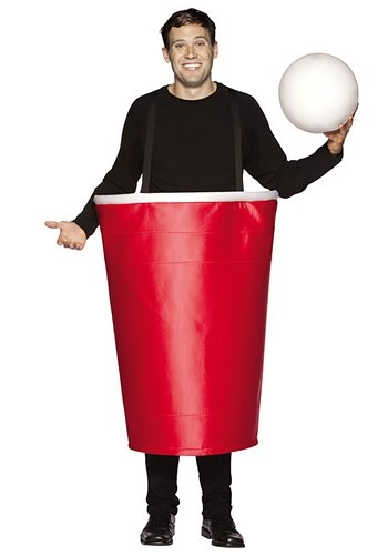 Adult Beer Pong Cup Costume Update main