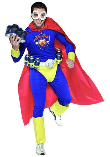 Click Here to buy Adult Beer Man Costume from HalloweenCostumes, CDN Funds
