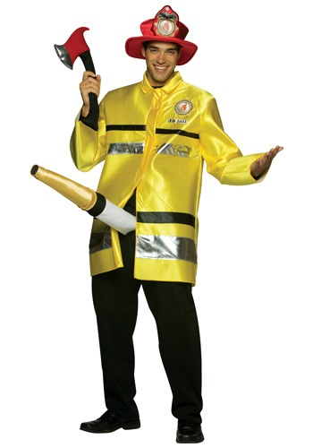 Click Here to buy The Fire Extinguisher Costume from HalloweenCostumes, USA Funds & Shipping