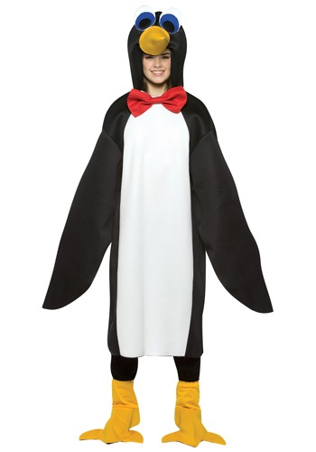 Click Here to buy Teen Penguin Costume from HalloweenCostumes, CDN Funds