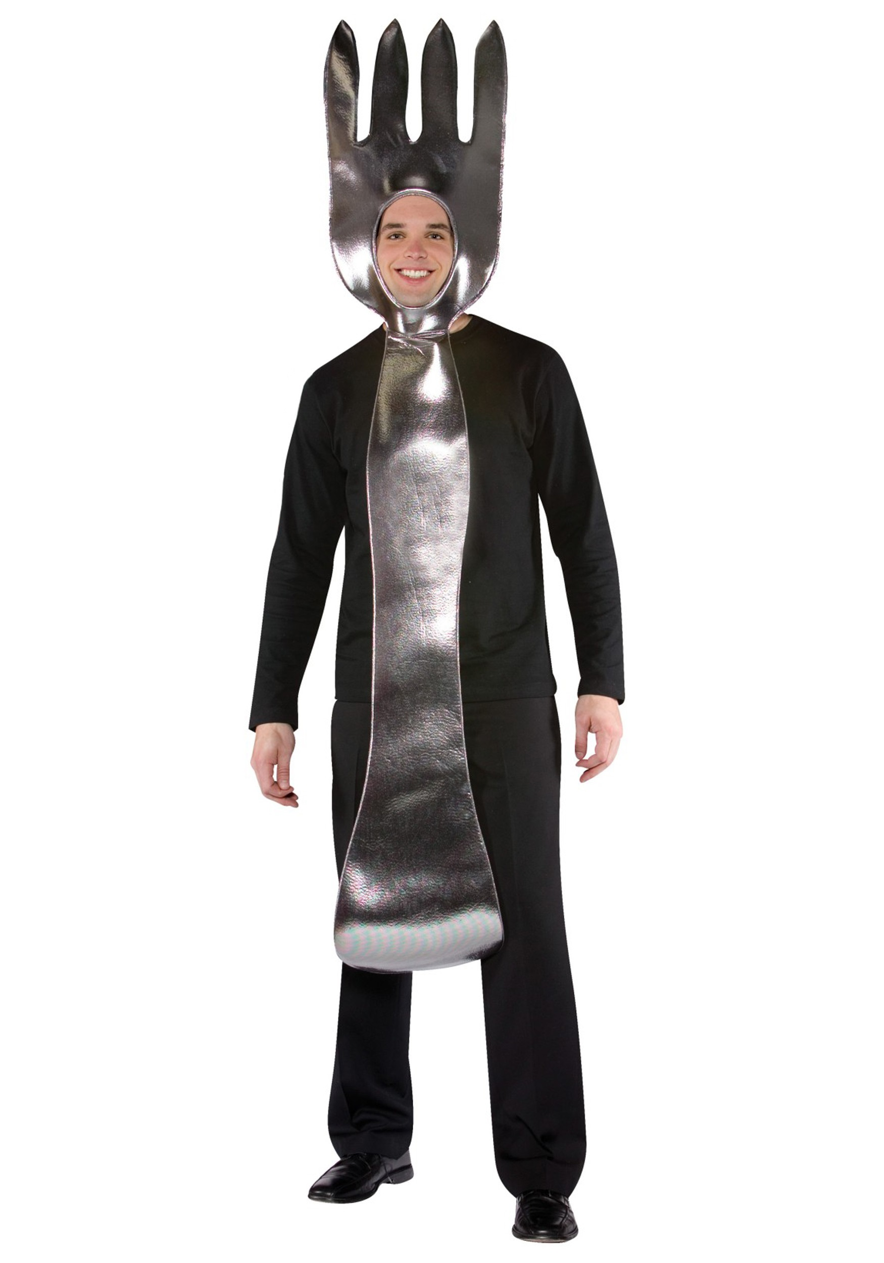 Spoon Silverware Adult Standard Size Costume