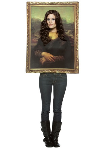 Mona Lisa Portrait Costume