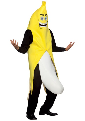 Click Here to buy Banana Flasher Costume from HalloweenCostumes, USA Funds & Shipping