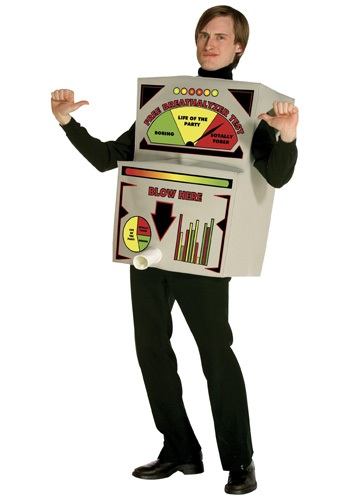 Breathalyzer Costume By: Rasta Imposta for the 2015 Costume season.